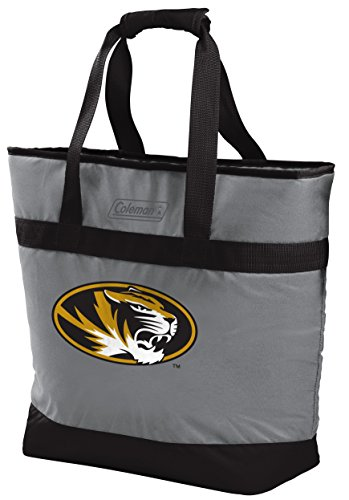 Rawlings NCAA Missouri Tigers Unisex 07883086111NCAA 30 Can Tote Cooler (All Team Options), Black, X-Large