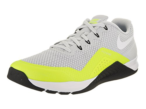 NIKE Men's Metcon Repper DSX Training Shoe Pure Platinum/White/Volt/Black (10.5) (Shoes Lifting Nike)