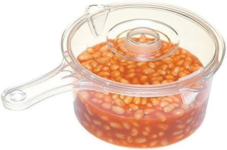 Kitchen Craft 5028250154163 Microwave 900ml Saucepan Clear