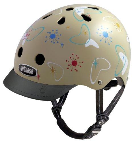 Nutcase Atomic Boomerang Street Helmet, Medium For Sale