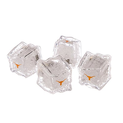 Texas Longhorns at Austin Set of 4 Light Up Ice Cubes