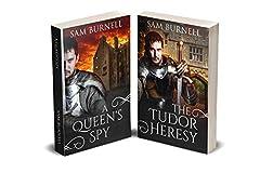 A Queen's Spy Abridged Version Plus The Tudor Heresy: Medieval Historical Fiction Novels - Mercenary For Hire Series (Tudor Mystery Trials)