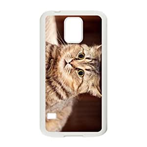 The Glaring Cat Hight Quality Plastic Case for Samsung Galaxy S5 by runtopwell