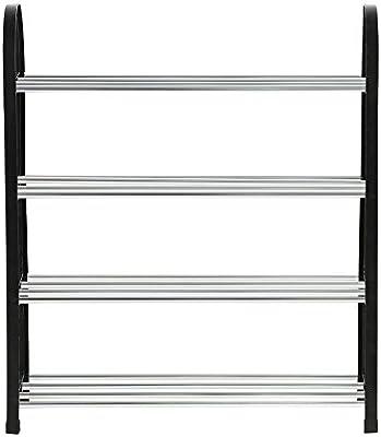 Shoe Rack Organizer Storage Bench Plastic Aluminum Metal