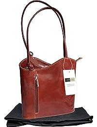 Italian Leather, Handbag, Shoulder Bag or Back Pack. Medium and Large Versions. Includes a Branded Protective Storage Bag.