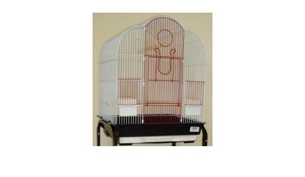 Imor Jaula NINFA AGAPORNIS ALCAZABA 58,4 x 47 x 35,65 cm: Amazon ...