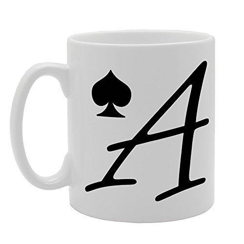 CCS 11oz Ace of Spade Novelty Gift Ceramic Tea Coffee Mug