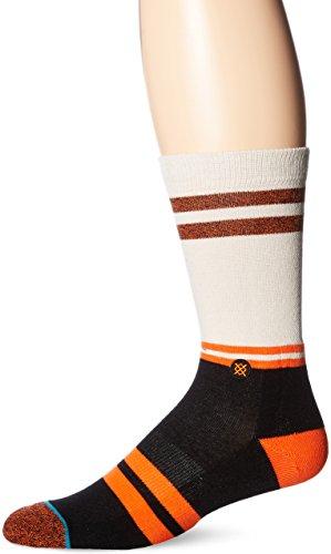 Stance Men's Sf Giants Crew Sock, Orange, Sock Size:10-13/Shoe Size: 6-12 from Stance