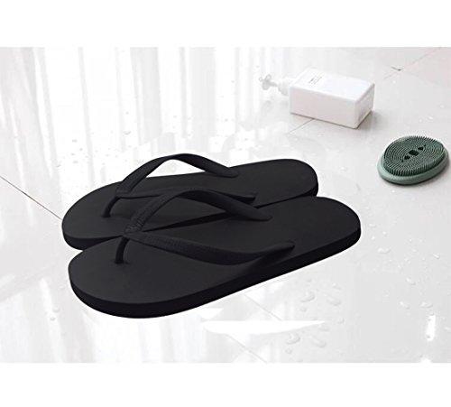 Pictures of Feisco Women Rubber Flip Flops Thong Sandal 4