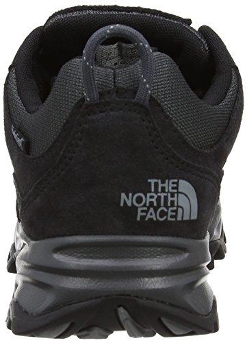 North Face W Storm WP (EU), Zapatillas de senderismo, Unisex adulto Negro / Gris