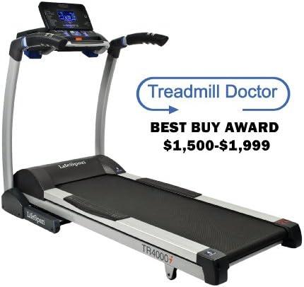 Lifespan TR4000i - Cinta de Correr para Fitness, Color Gris ...