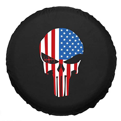 Cover Truck Spare Tire (Altopcar Spare Tire Cover, Universal Fit for Jeep, Trailer, RV, SUV, Truck and Many Vehicles, Wheel Diameter, Weatherproof Tire Protectors)