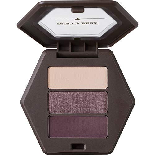Burt's Bees 100% Natural Origin Eye Shadow Palette Trio Countryside Lavender - 0.12 Ounce (Natural Eye Makeup)