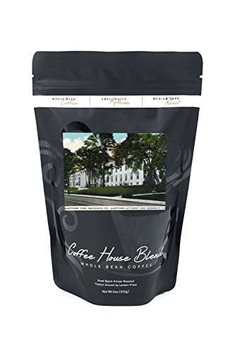Hartford, Connecticut - Hartford Fire Insurance, Accident and Indemnity Co Bldgs Exterior (8oz Whole Bean Small Batch Artisan Coffee - Bold & Strong Medium Dark Roast w/ Artwork)