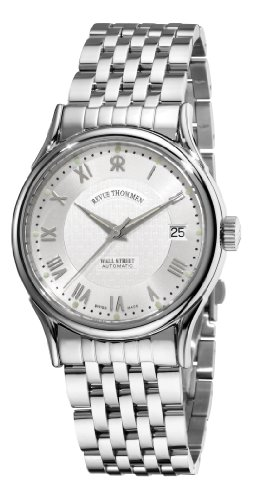 Revue Thommen Men's 20002-2132 Wallstreet Tradition Analog Display Swiss Automatic Silver Watch