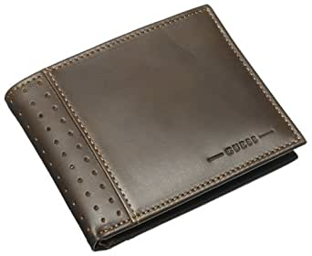 Guess Men's Passcase Billfold - Brown - One Size