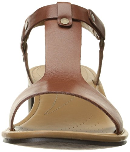Clarks Reida Ryan vestido de la sandalia rusty
