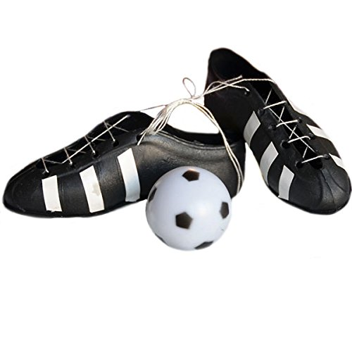 Soccer Cleats and Ball Cake -