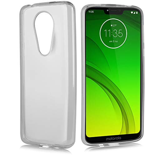 (Moto G7 Power Case, Slim Protective TPU Gel Flexible Clear Wrap Cover Air Cushion Drop Skin with Anti-Shock Technology Case for Motorola Moto G7 Power (Clear))