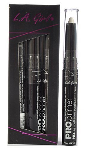 LA Girl High Definition Eye Shadow Primer White 3 Pcs