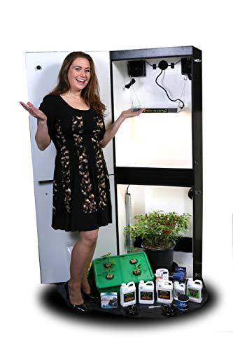 Growzilla 4 Plant Vertical Hydroponics Grow Box