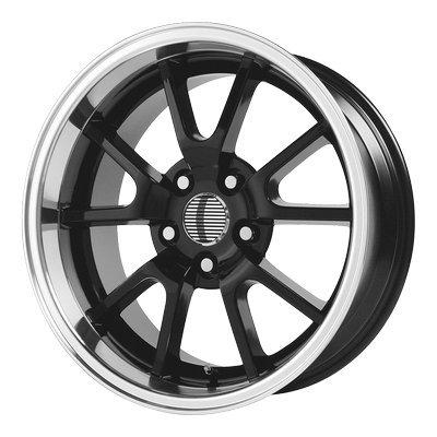 OE Creations | 118B-816522 | 18 Inch | Mustang FR500 | PR118 Wheel/Rim | Black | 18x10 Inch | 5x4.5/5x114.30 | (Mustang Black Fr500 Rims)