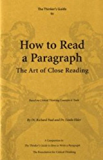 The Thinker's Guide to How to Read a Paragraph (English Edition)