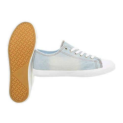 Ital design Low Sneakers Piatto Scarpe Lumière Da Donna Bleue R08 Sneaker rrxUdPnHwq