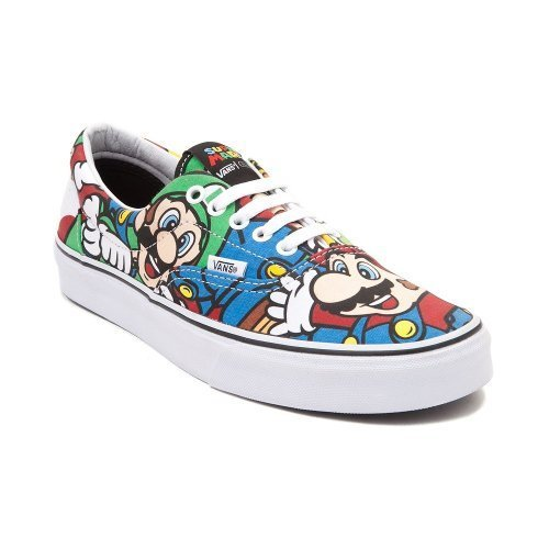Especial Edition Nintendo Vans Era Mario & Friends (Mens 5/Womens 6.5)