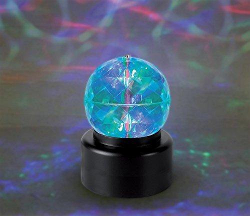 Multicolored Mini Disco Ball Lamp Sensory Stimulation ()