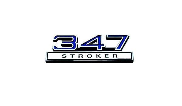 "Emblem 347 Stroker Blue 4/"""
