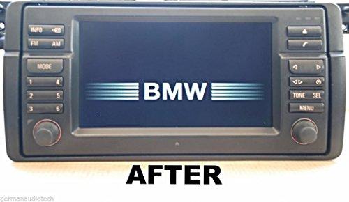 bmw navigation monitor radio display 16 9 wide screen lcd 2000 2001 e38 740i 2002 2003 e39 525. Black Bedroom Furniture Sets. Home Design Ideas