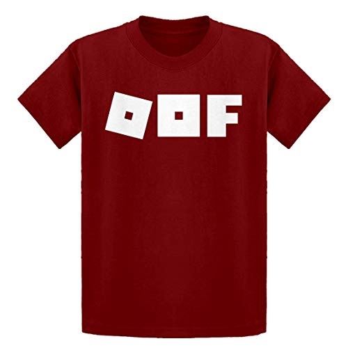 Indica Plateau Youth Oof Youth L - (10-12) Red Kids T-Shirt ()