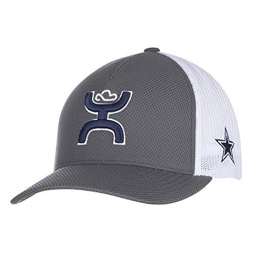 Dallas Cowboys NFL Mens Hooey Lazuli, Gray/White, Small/Medium