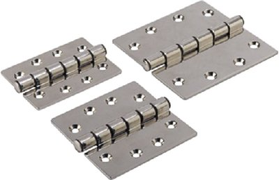 SeaDog Butt Hinge with Bearings Commercial Pattern Investment Cast 316 Stainless 1/4'' Fastener