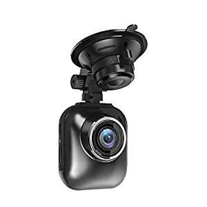 TaoTronics Car DVR Dash Cam 2K For Super Night Vision (400W Sensor, 160 Degrees Wide Angle Lens, 2 Inch Screen, 32GB SD Card, G-Sensor)