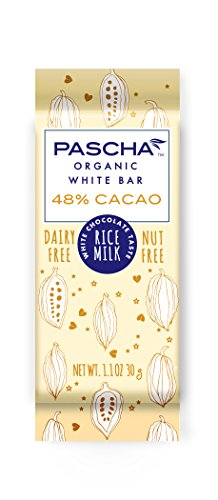 Pascha Organic Vegan Rice Milk White Chocolate Bar, 1.1 Ounce (Pack of 15)