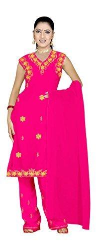 Trendofindia Pink Salwar Kameez/Punjabi Größe XL