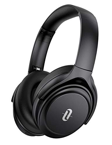 Active Noise Cancelling Headphones, TaoTronics Bluetooth Headphones Over Ear Wireless Headphones 40H Playtime aptX Type-C Fast Charging Bluetooth 5.0 CVC 8.0 Mic for TV PC Cellphone