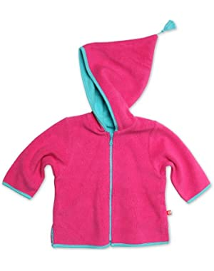 Baby Girls' Cozie Zip Jacket With Hood
