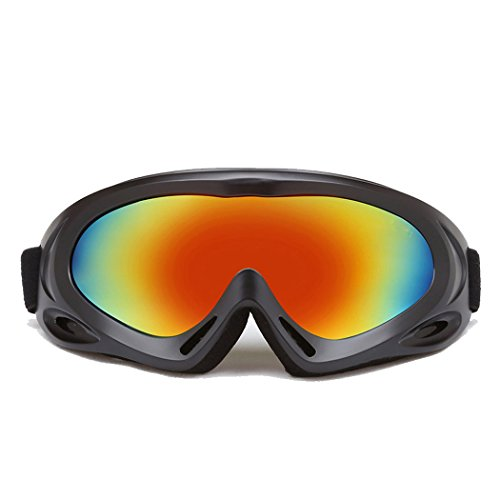Ski Goggles for Men, Women & Kids, With 100% UV Protection,Wind Resistance,Anti-fog Coated. Multicolor Snow Glasses for Skiing,Skating,Cycling,Snowboard,Motorcycle,Riding. - Versace Used Sunglasses