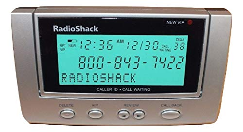Radioshack Backlit Display Caller ID/ Call Waiting (MODEL No. #CID-3903) (Radio Shack Caller Id)