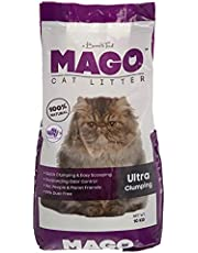 Mago Ultra-Clumping Cat Litter With Lavander Scent - 10 Kg