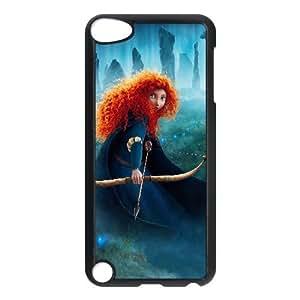 Princess Merida Brave Cartoon iPod TouchCase Black yyfabc_929459