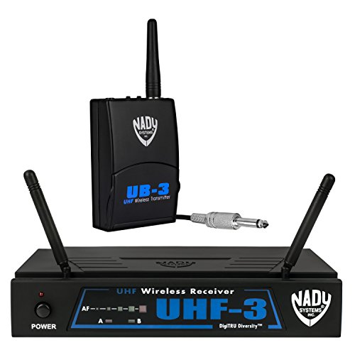 Nady UHF-3 Wireless Instrument / Guitar System w/ True Diversity by Nady