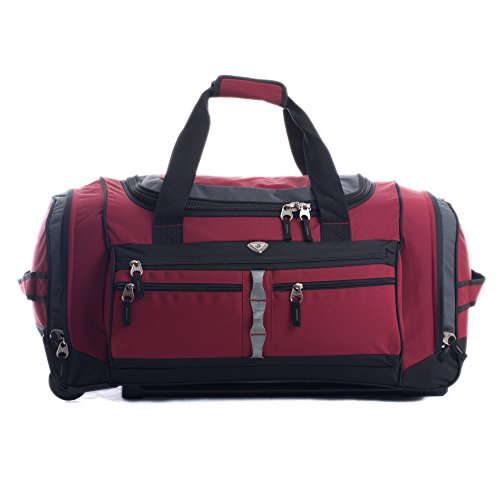 calpak-terminator-deep-red-26-inch-rolling-upright-duffel-bag