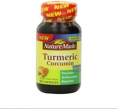 Nature Made Tumeric Capsules 500 Mg, 60 Count 2