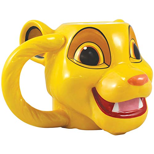 Vandor Disney The Lion King Simba Sculpted Ceramic Mug #86201