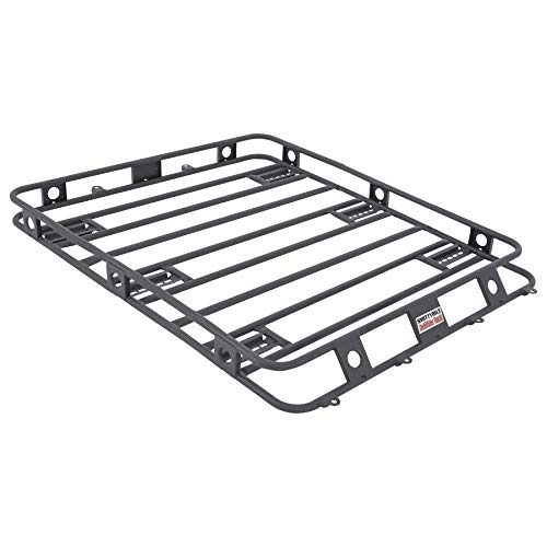 Defender Roof Rack Welded One Piece Steel 4/' x 2/'  Smittybilt 40204