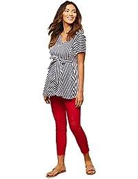 Jessica Simpson Secret Fit Belly Twill Skinny Leg Maternity Crop Pants